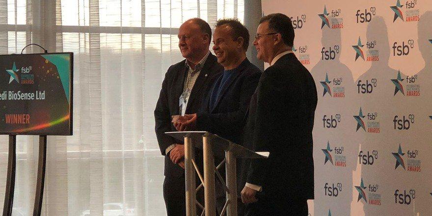 MediBiosense Innovation Award Winners FSB